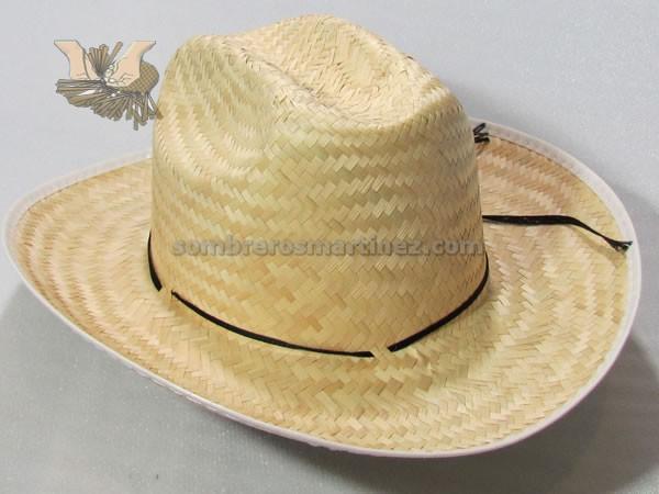 Modelo no palma tejida a mano jpg 600x450 Sombreros de palma para hombre e25a109068b