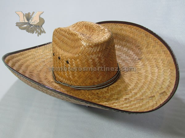 Modelo no palma tejida a mano jpg 600x450 Palma hombre sombrero dc05aa953de